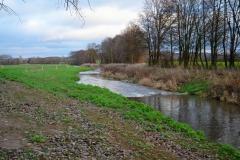 Oberer Abschnitt der ehem. Ausbaustrecke südlich von Einbeck, nach der Umgestaltung 2018 (Bildrechte: R. Eikenberg | Fischereiverein Einbeck e.V.)