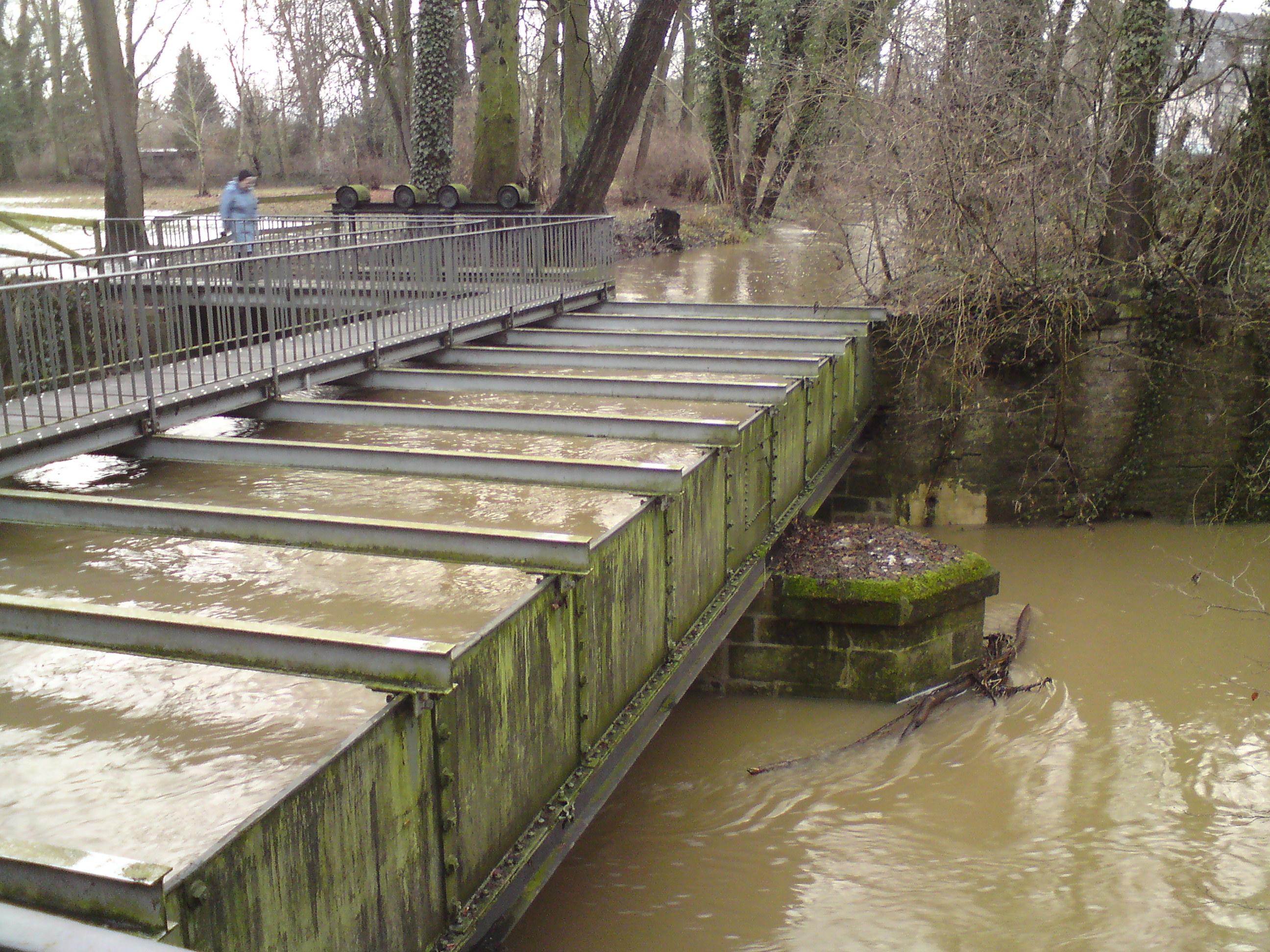 Trogbrücke Mühlenkanal