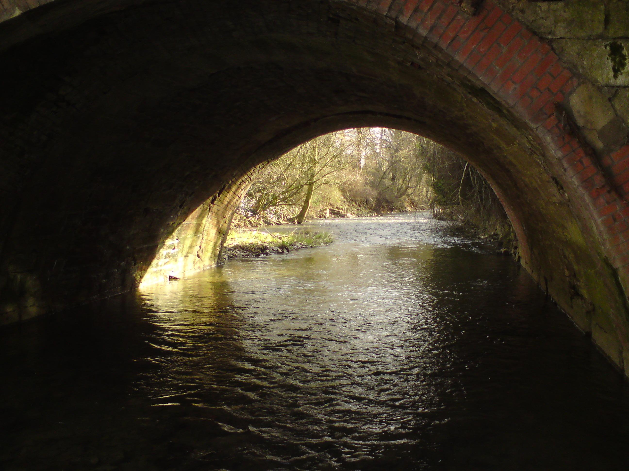 Unter der Tiedexer Tor Brücke